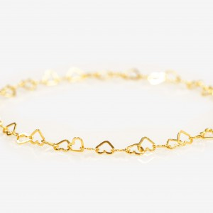 FREYSTIL Love Goes On And On Gold Bracelet