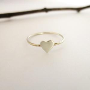 Delicate Silver Heart